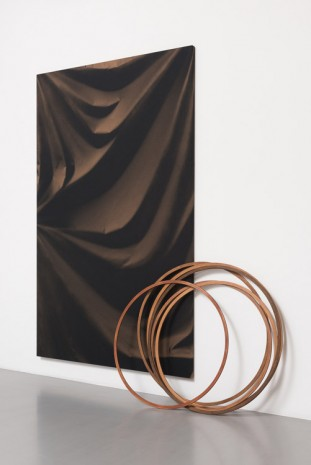 Ulla von Brandenburg, Folds and Hoops, 2015, Pilar Corrias Gallery