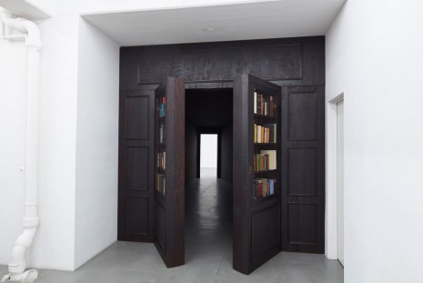 Laure Prouvost, Grandad's Library, 2015, carlier I gebauer