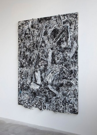 Andrew Dadson, Painting Hammer, 2015, Galleria Franco Noero