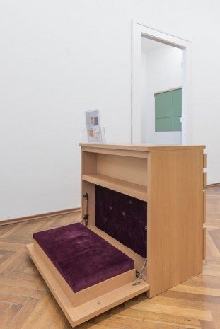 Ilona Németh, MALM-IN, Polyfunctional Drawer Chest – Praying Desk 1 – 2, 2008, Gandy gallery