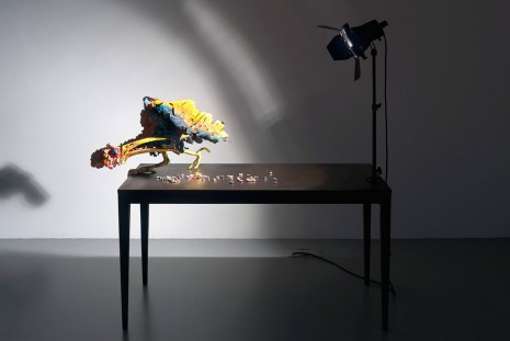 Nathalie Djurberg, A Thief Caught in the Act (Ugly Bird), 2015, Giò Marconi