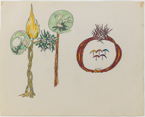Gordon Matta-Clark, Tree Forms, 1971, David Zwirner