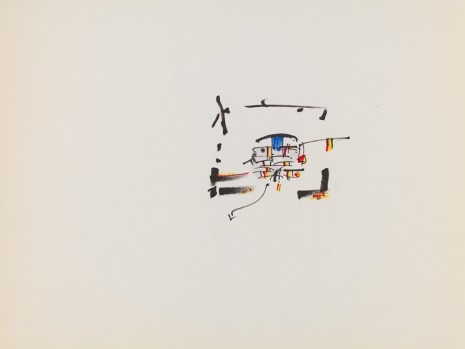 Gordon Matta-Clark, Energy Rooms (notebook), 1974, David Zwirner