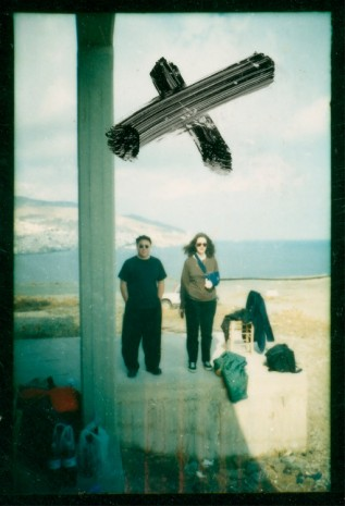 Elfie Semotan, Christopher Williams und Anne Goldstein, Syros, 1996, Galerie Mezzanin