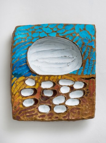 Erika Verzutti, Van Gogh with Eggs, 2015, Alison Jacques Gallery