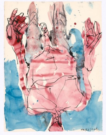 Georg Baselitz, Untitled, 2014, Tim Van Laere Gallery