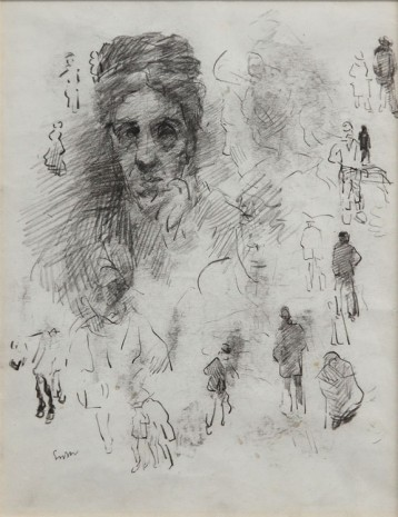 James Ensor, Etudes de personages , , Tim Van Laere Gallery