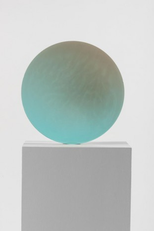 De Wain Valentine, Circle Blue to Gray, 1970, Almine Rech