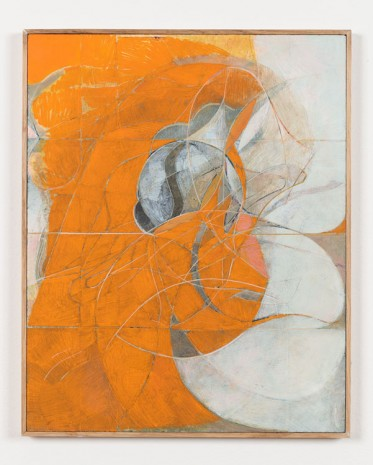 Nicholas Byrne, Past life, orange, 2015, Vilma Gold