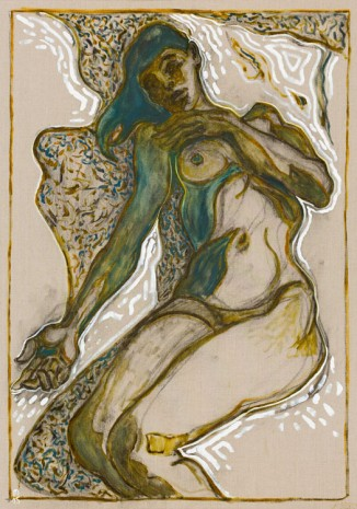 Billy Childish, juju reclining, 2015, Lehmann Maupin