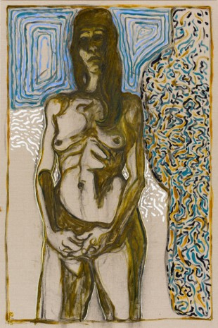 Billy Childish, juju, 2015, Lehmann Maupin