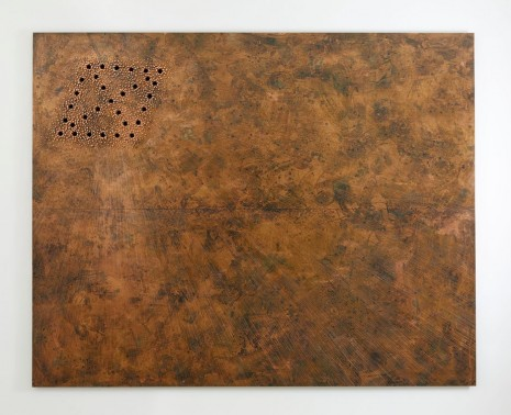 Nari Ward, Breathing Panel: Oriented Left, 2015, Lehmann Maupin