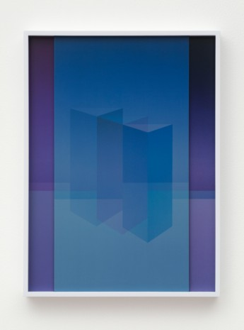 Sara VanDerBeek, Electric Prisms I, 2015, The Approach