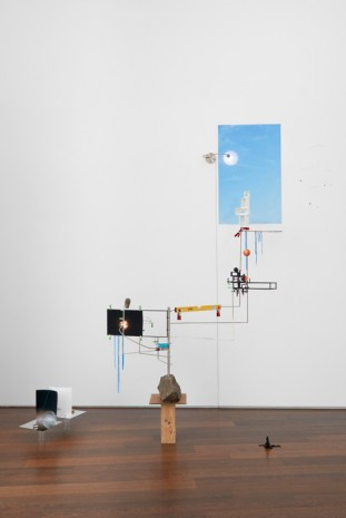 Sarah Sze, Model for a Weather Vane, 2012, Victoria Miro Gallery