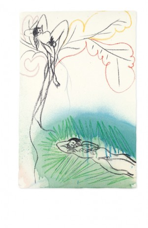 Chris Ofili, Study for Ovid-Windfall, 2012, Victoria Miro Gallery