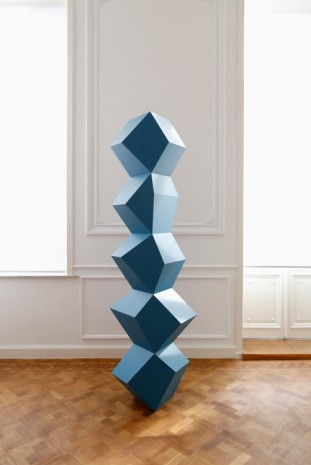 Angela Bulloch, Can Do Blue, 2015 , Galerie Micheline Szwajcer (closed)