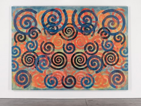 Philip Taaffe, Spiral Painting II, 2015, Galerie Patrick Seguin
