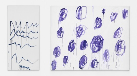 Cy Twombly, Untitled, 2007, Gagosian