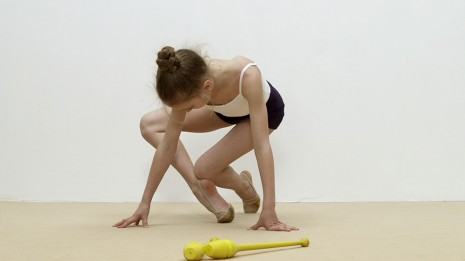 Rineke Dijkstra, The Gymschool, St. Petersburg (video still from), 2014, Marian Goodman Gallery