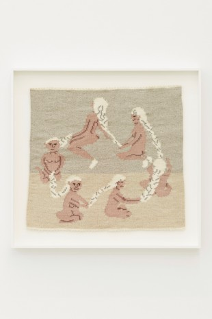 Arna Ottarsdottir, Circle of Life (Six Ladies Braiding Each Others Hair), 2011, i8 Gallery