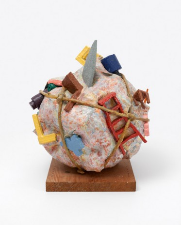 Claes Oldenburg & Coosje van Bruggen, Houseball, Naoshima – Presentation Model, 1992, Paula Cooper Gallery
