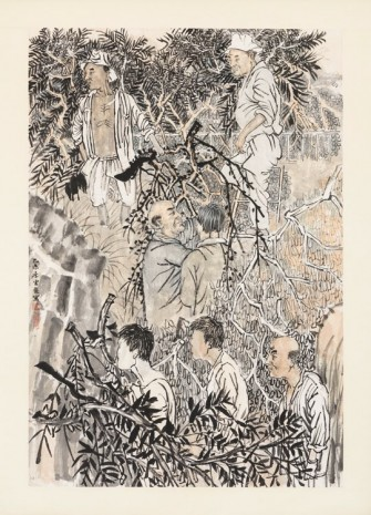 Yun-Fei Ji, The loggers, 2015, Zeno X Gallery