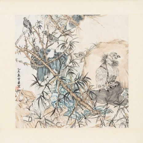 Yun-Fei Ji, On the lookout, 2015, Zeno X Gallery