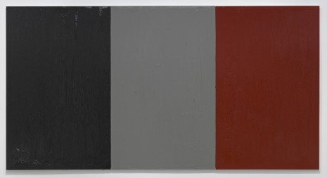 Claire Fontaine, Untitled (Fresh monochrome / black / grey / red), 2015, Air de Paris