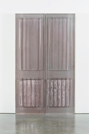 Rachel Whiteread, Untitled (Curtains), 2015, Luhring Augustine