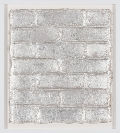 Rachel Whiteread, Untitled (Silver Leaf), 2015, Luhring Augustine