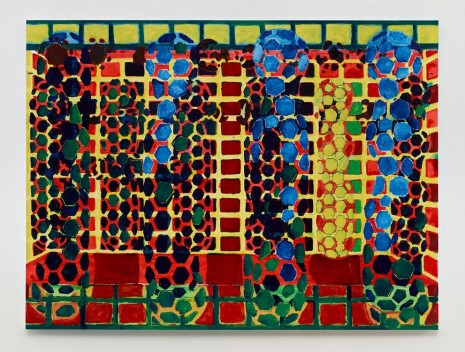 Terry Winters, Red Yellow Green Blue, 2014, Matthew Marks Gallery