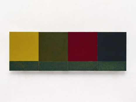 Brice Marden, Small Seasons, 2012-2015, Matthew Marks Gallery
