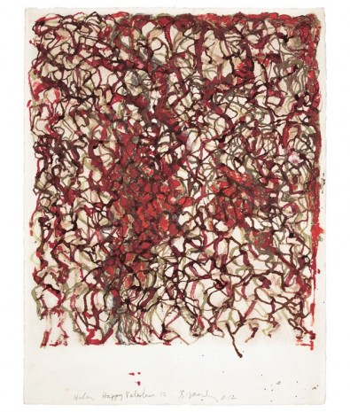 Brice Marden, African Drawing 17, 2011-2012, Matthew Marks Gallery