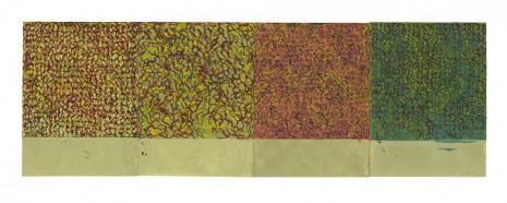Brice Marden, Early Seasons, 2010-2011, Matthew Marks Gallery
