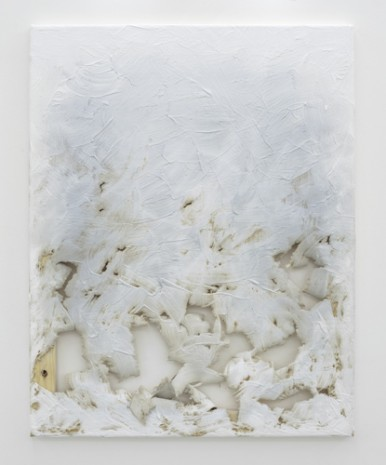 Analia Saban, Fade Out (from White) #2, 2011, Praz-Delavallade
