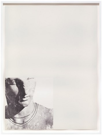 Troy Brauntuch, White Statue, 1976, Petzel Gallery