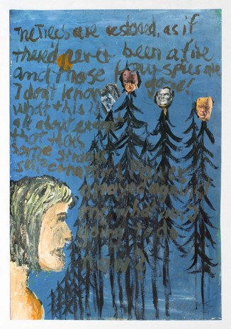 Andy Hope 1930, The Trees are ..., 2000, Galerie Guido W. Baudach