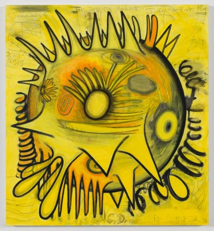 Carroll Dunham, Big Bang (actual size) 3, 2013-2015, Gladstone Gallery