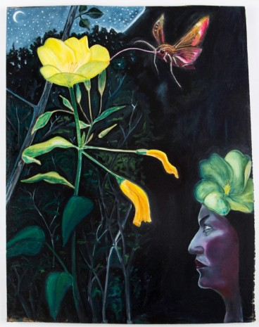 David Harrison, Flowers of Evil, Evening Primrose Fairy, 2015, Victoria Miro Gallery