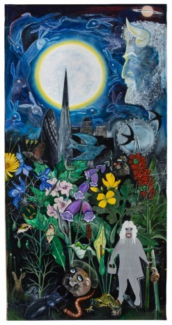 David Harrison, Flowers of Evil, The Congregation, 2015, Victoria Miro Gallery