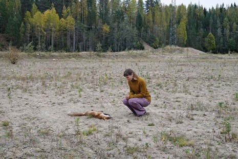 Elina Brotherus, Dead Fox, 2014, gb agency