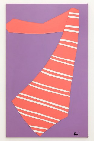 Enrico Baj, The large tie, 1968, Giò Marconi