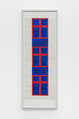 Albert Mertz, Untitled (windows), 1984, Croy Nielsen