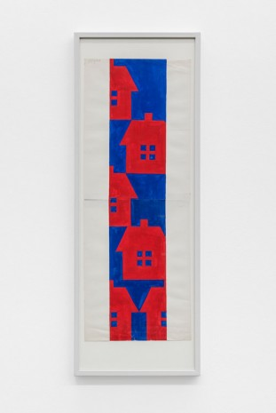 Albert Mertz, Untitled( six houses), 1984, Croy Nielsen
