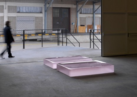Roni Horn, Two Pink Tons (A), 2008, Hauser & Wirth