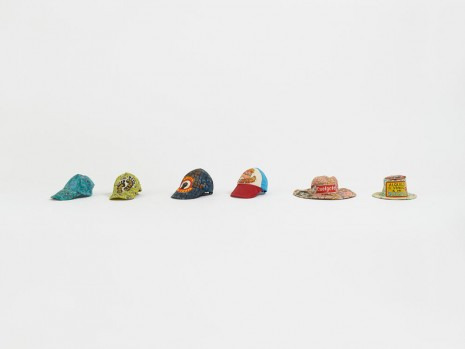 Francis Upritchard, Mexican Hats, 2015, Anton Kern Gallery