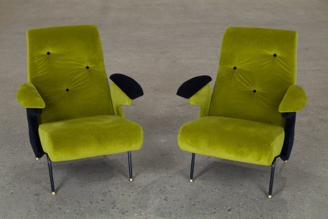 Martino Gamper, Arm Chairs, 2015, Anton Kern Gallery