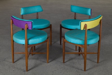 Martino Gamper, G Plan Chairs, 2015, Anton Kern Gallery