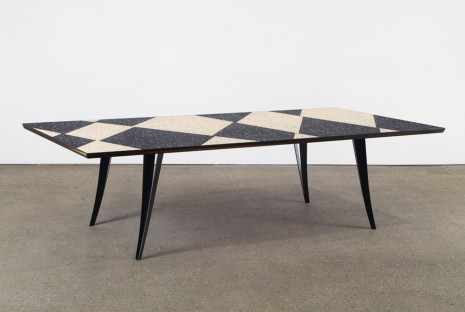 Martino Gamper, Black and White Table, 2015, Anton Kern Gallery