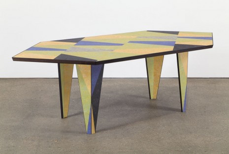 Martino Gamper, Hexagon Dining Table, 2015, Anton Kern Gallery